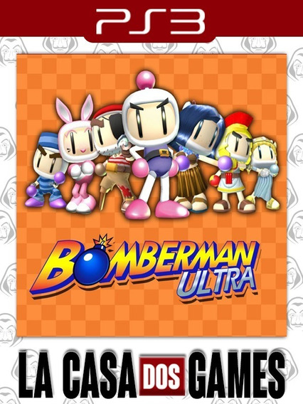 Bomberman Ultra - Psn Ps3 - Envio Imediato
