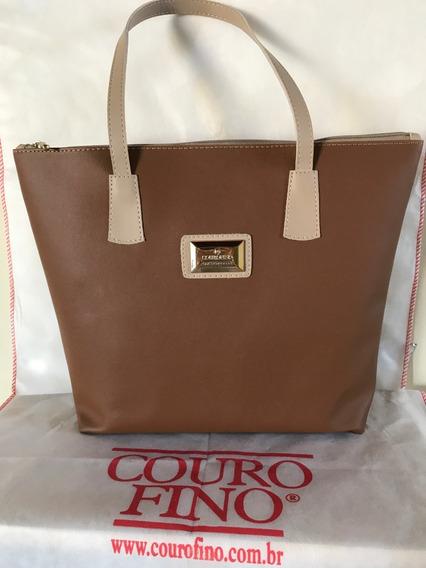 Bolsa Marca Couro Fino Prod Original