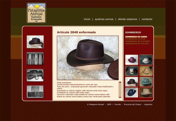 Fábrica De Sombreros Talabarteria Tapicería Automotor Hogar
