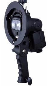 Suporte Flash Dedicado Speedlite Softbox Bowens Greik S-type