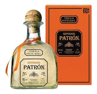 Tequila Patrón Reposado 100% Agave De Mexico