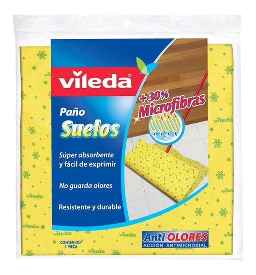 Fibra Paño Suave Multiusos 2 Pack Antimicrobial Vileda