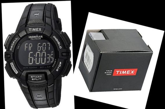 Relógio Timex Ironman Triathlon T5k793 Com Caixa Original