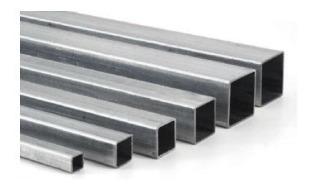 Tubo Cuadrado 1 Pulgada De Aluminio (6,10m)