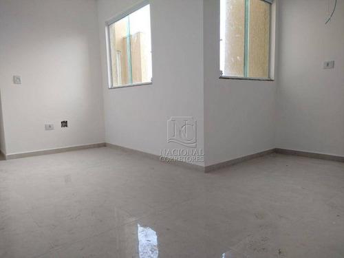 Cobertura Com 2 Dormitórios À Venda, 94 M² Por R$ 370.000,00 - Vila Francisco Matarazzo - Santo André/sp - Co4113