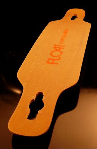Imagen 1 de 4 de Longboard Float Composite Epoxi/maple/bamboo No Loaded