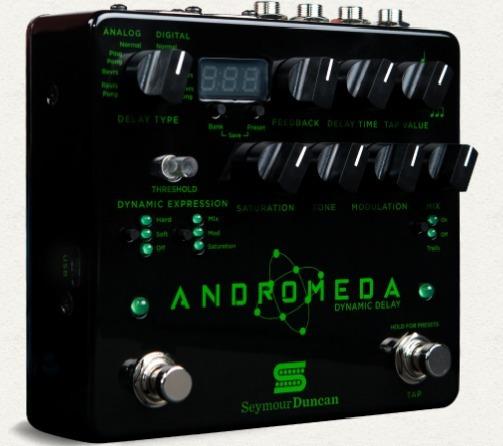 Pedal Seymour Duncan Andromeda Digital Dinâmico Sey-andromed