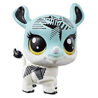 Littlest Pet Shop Single Pet Rhino Aaa