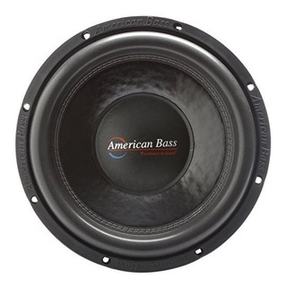 American Bass Usa Xfl 1244 2000w Max Dual 4¿ 12 Subwoofer