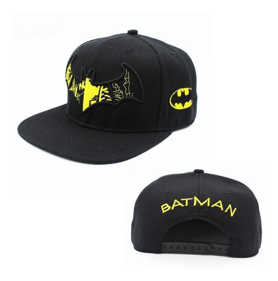 Gorra Geek Gamer Batman Logotipo Murcielago