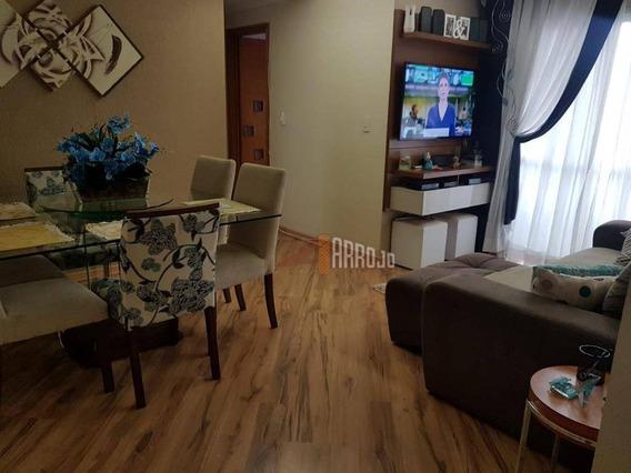 Apartamento À Venda, 62 M² Por R$ 325.000,00 - Parque Císper - São Paulo/sp - Ap1153