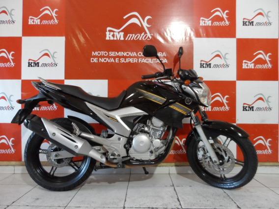 Fazer Ys 250 Preta 2011