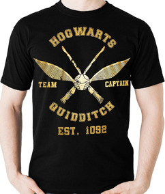 Camiseta Quadribol Hogwarts Harry Potter Geek Camisa Blusa