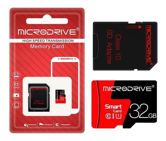 Cartão De Memória De 32 Gb Com Adaptador