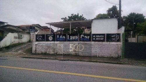 Te0012 - Terreno À Venda, 637 M² Por R$ 2.670.000 - Abraão - Florianópolis/sc - Te0012