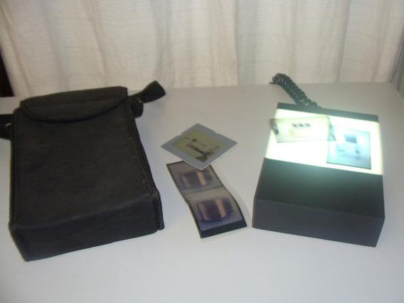 Caixa De Luz Para Visualização De Cromos Ou Slides
