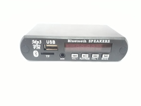 Placa Mp3 Player Usb Sd Bluetooth Fm - Passa Pasta