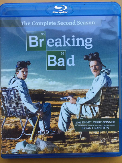 Blu-ray Breaking Bad The Complete Second Season 2a Temporada