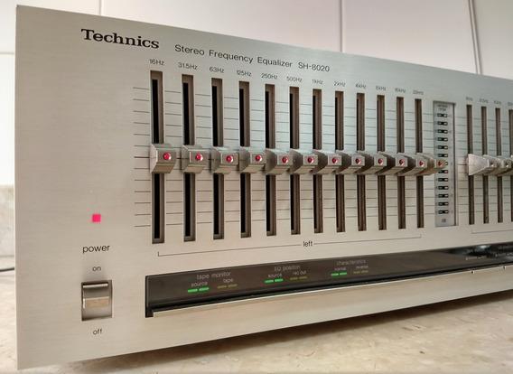 Equalizador Technics Sh-8020, 12 Bandas / Canal, +/- 3db