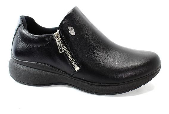 Sapato Usaflex Batik Feminino Preto