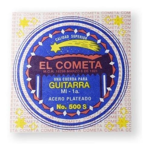 Imagen 1 de 1 de El Cometa Cuerda 500s(12) Para Guitarra Acústica, 1ra, Acero