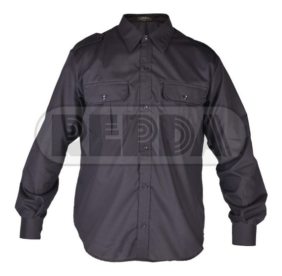 Camisa Manga Larga Policía Federal Premium T: 34 A 44 Cuotas
