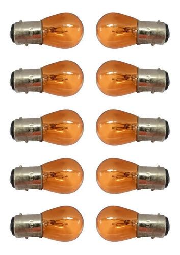 Lampara X10 Unid P21 12v 5w 2 Polos 2 Pines Culote (menu)