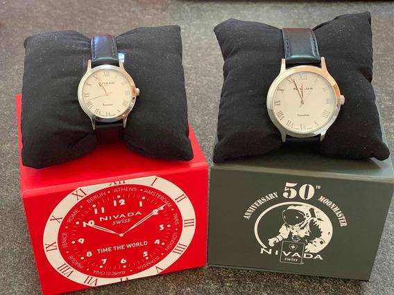 Reloj Nivada Piel Hombre /dama