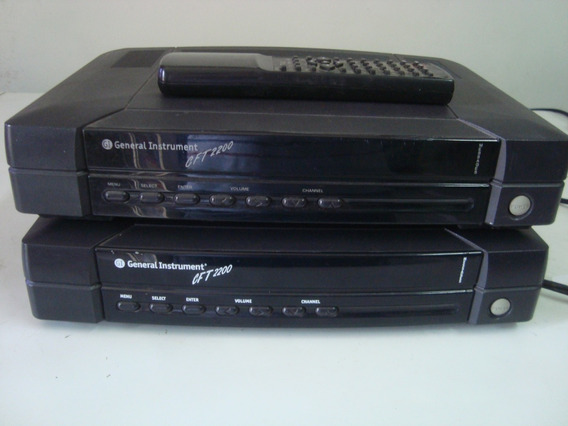 Decodificador General Instrument Gft 2200 Señal Analogica
