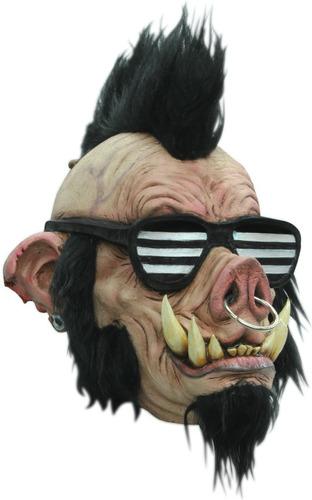 Máscara Boar Punk Divertida Máscara De Cerdo Punk