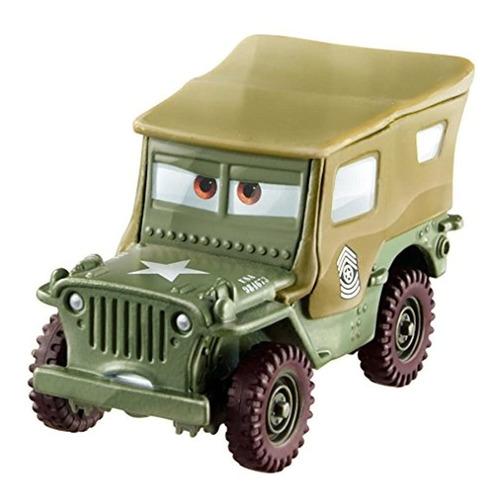 Vehículo De Cars Diecast Sarge