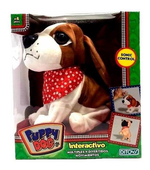 Perro Interactivo Puppy Dog Modelo 2 Ditoys