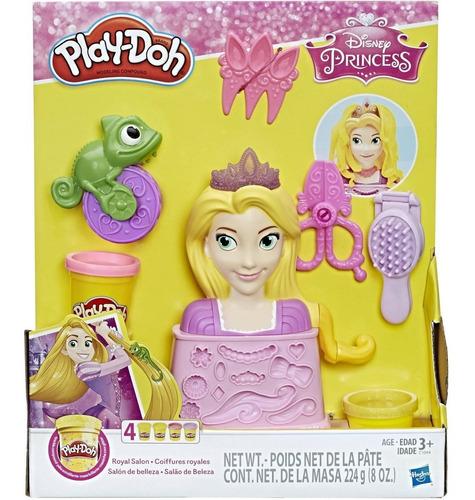 Imagen 1 de 3 de Play-doh Plastilina Salón De Belleza Rapunzel, Niñas