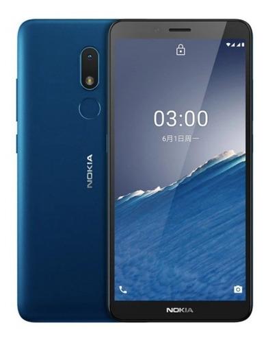 Smartphone Nokia C3 2gb 32gb Azul Sp01z01z2448y