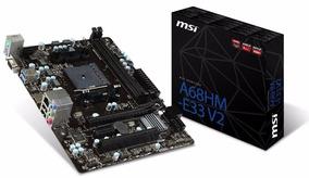 Kit Placa Mãe Processador Memoria Msi A68hm Amd A4 6300 4gb