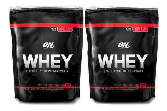Whey Black 1,82 Lb X 2 Unidades Optimum Nutrition Proteina