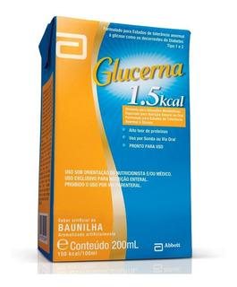 Suplemento Alimentar Glucerna 1.5 Kcal Baunilha 200ml