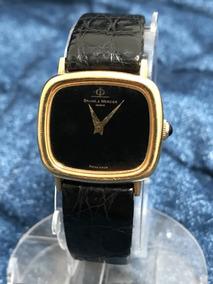 Relógio Ouro 18k Maciço Baume Masculino 13 Anos No M. Livre*