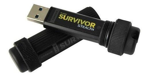 Corsair Pen Drive Survivor 128gb Usb 3.0 Prova Choque E Agua