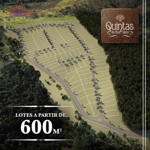 Terreno À Venda, 638,30 M² Por R$ 210.000 - Condomínio Quintas Da Boa Vista - Atibaia/sp - Te1394