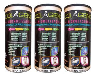 Colageno Hidrolizado + Cloruro Magnesio Y Vitaminas Promo 3