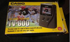 Tv Portatil Casio 600bx