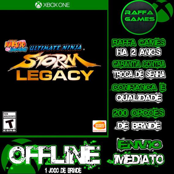 Naruto Ultimate Ninja Storm Legacy Xbox One Offline + Brinde