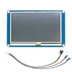 Tela Lcd Nextion 7 Tft 800×480 Touch Para Arduino