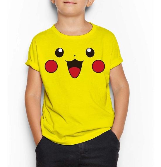 Playera Niño(a) Pokemon Pikachu Jigglypuff Envío Gratis