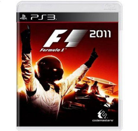 Formula 1 2011 Ps3 Original Seminovo