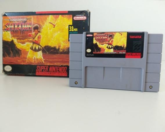 Samurai Shodown Original Com Caixa Super Nintendo Snes