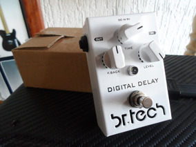 Pedal Br Tech Pedal Digital Delay Novo