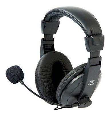 Fone Ouvido Headset Gamer C3tech Microfone Jogos Online