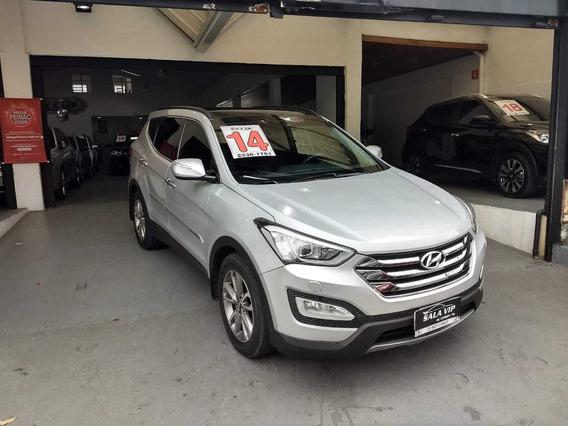 Hyundai Santa Fé 7 Lug. 2014 Prata Bx Km